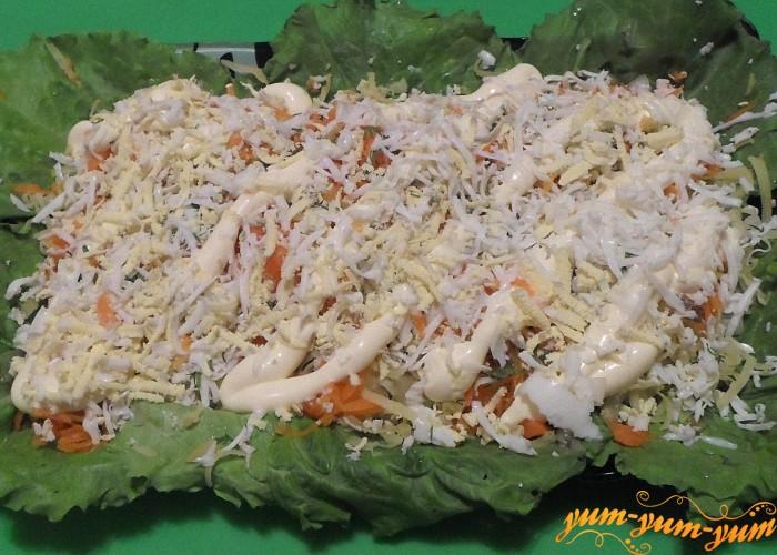 Новые рецепты салатов с фото курица огурец