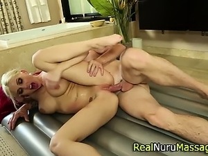 Redhead fucked from behind