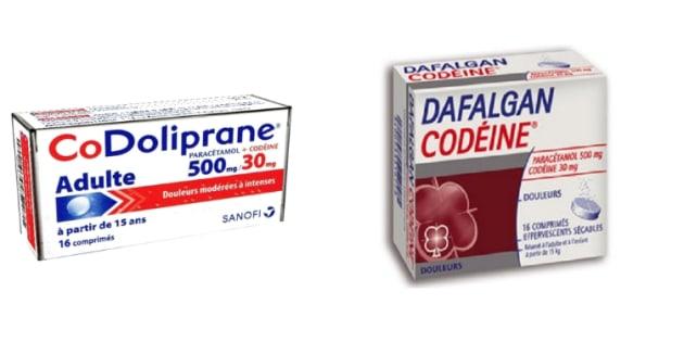 Codeine drogue prix