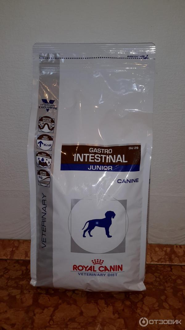 Корм royal canin gastro intestinal франция