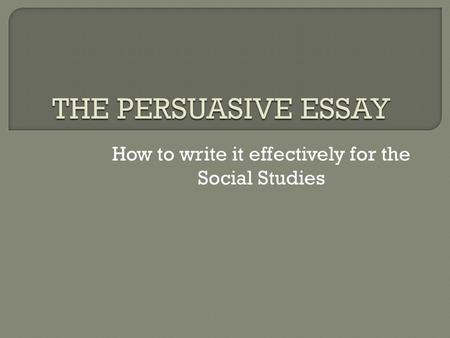 Write my social issues essay