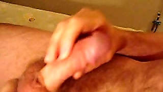 Wife prostate massage cum