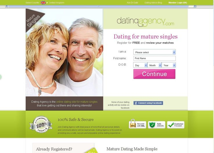 Free dating sites over 40s