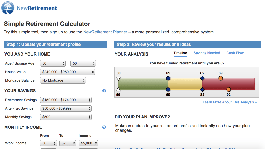 Cibc retirement calculator login kenya