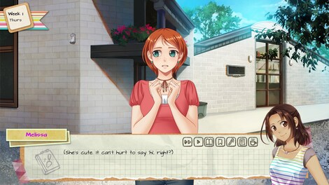 Dating Simulator – Ariane's Life in the Metaverse
