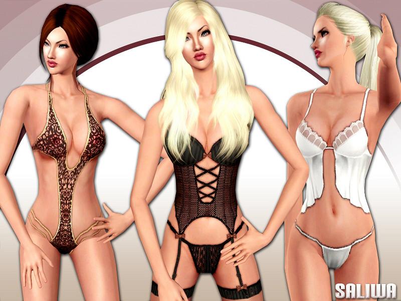 Эротическое белье для симс 4