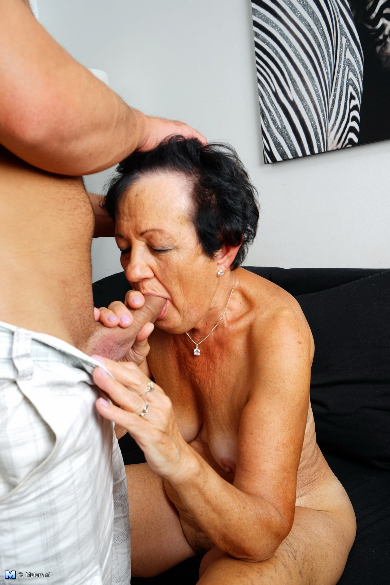 Teen big cock oral