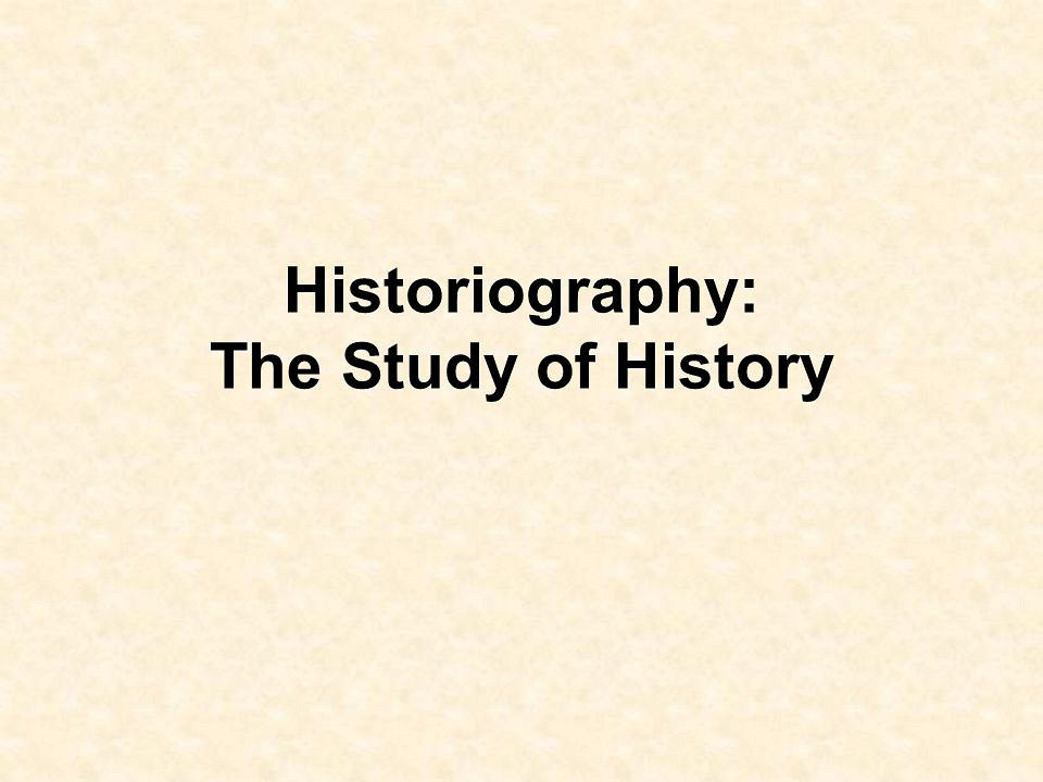 Buy historiography paper