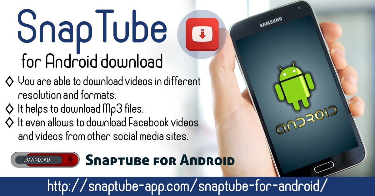 TubeMate Youtube Downloader pour Android et PC