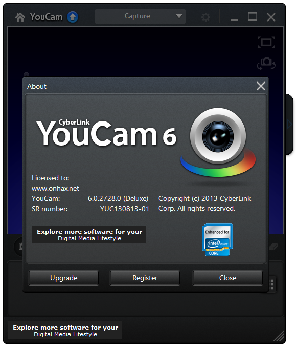 Download CyberLink YouCam - latest version