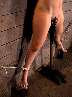 Serious leather bondage gear