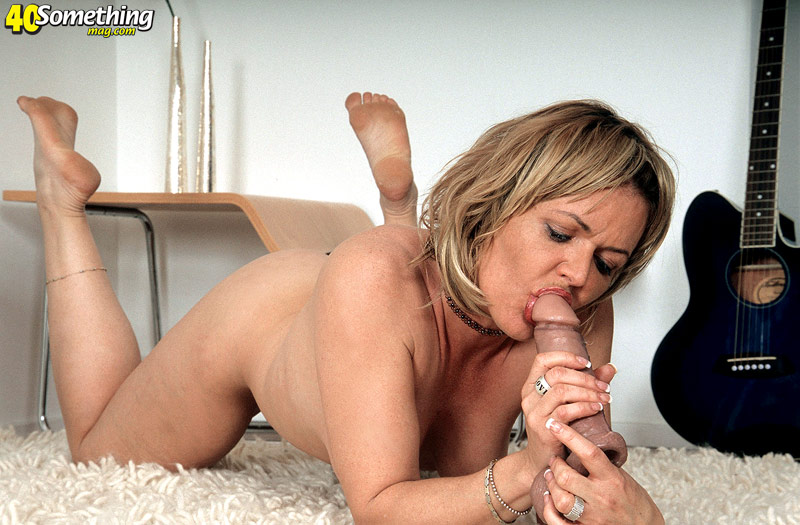 Nice blonde gives her first handjob