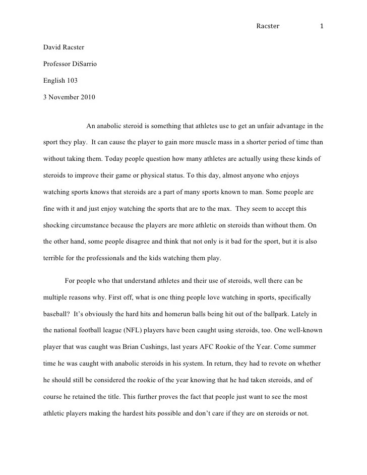 sample high school essays high school sample narrative essay