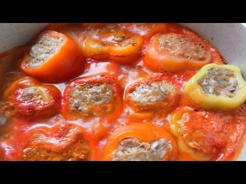 Рецепт фаршированного перца быстро и вкусно