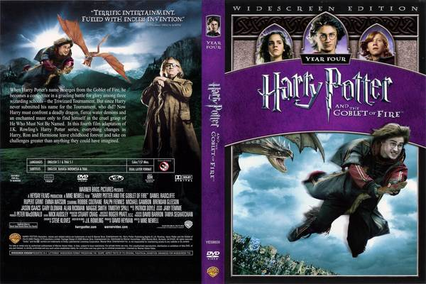 Book 4 - Harry Potter and the Goblet of Fire by J K