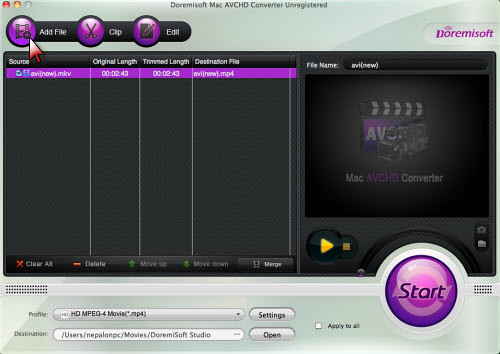 Apowersoft Free Online Video Converter - convert AVI