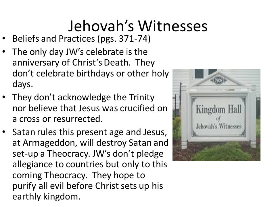 Jehovah witness beliefs on dating and marriage