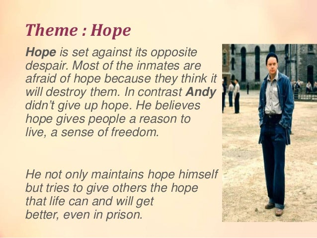 essay about shawshank redemption hope man and van essay about shawshank redemption hope