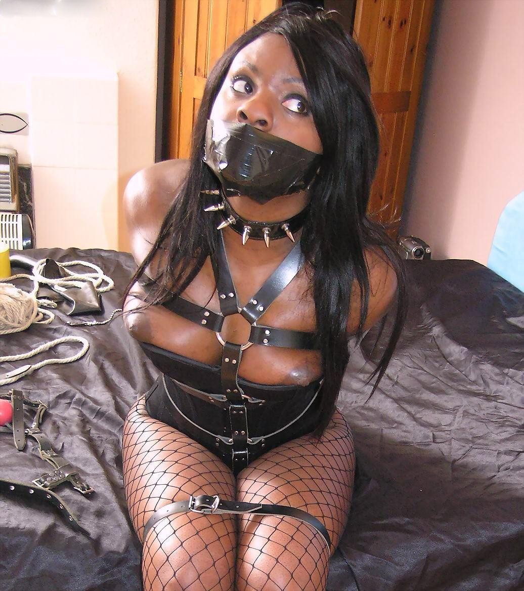 Ebony women in bondage