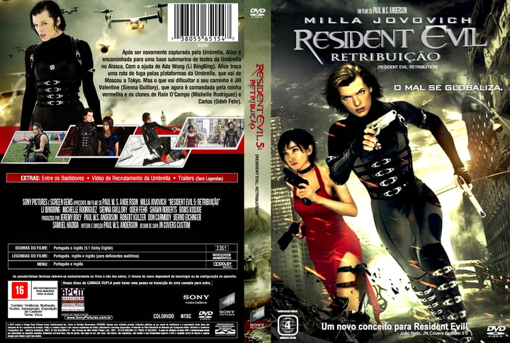 Resident Evil: The Final Chapter - DVD Blu-ray Release