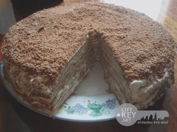 торт блинный рецепт фото домашних