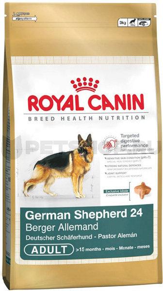 Немецкая овчарка корм royal canin
