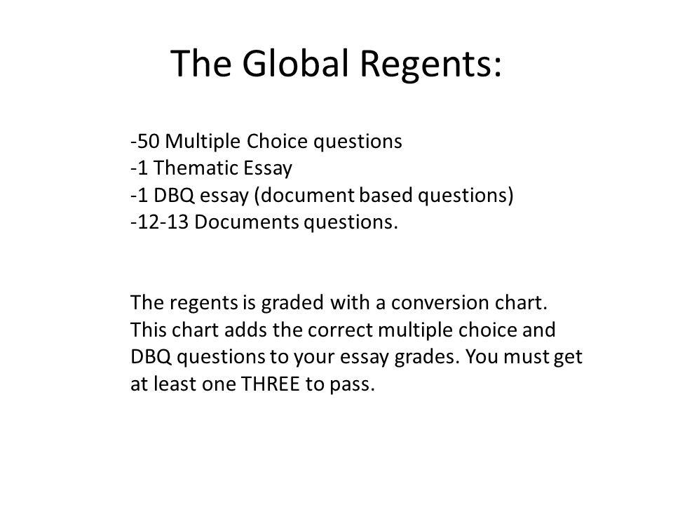 Write my thematic essays for global history