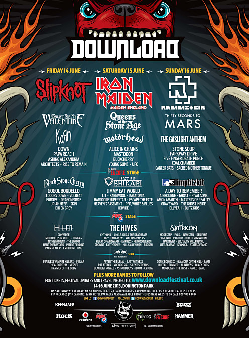 Download Festival's cashless payment system crashes