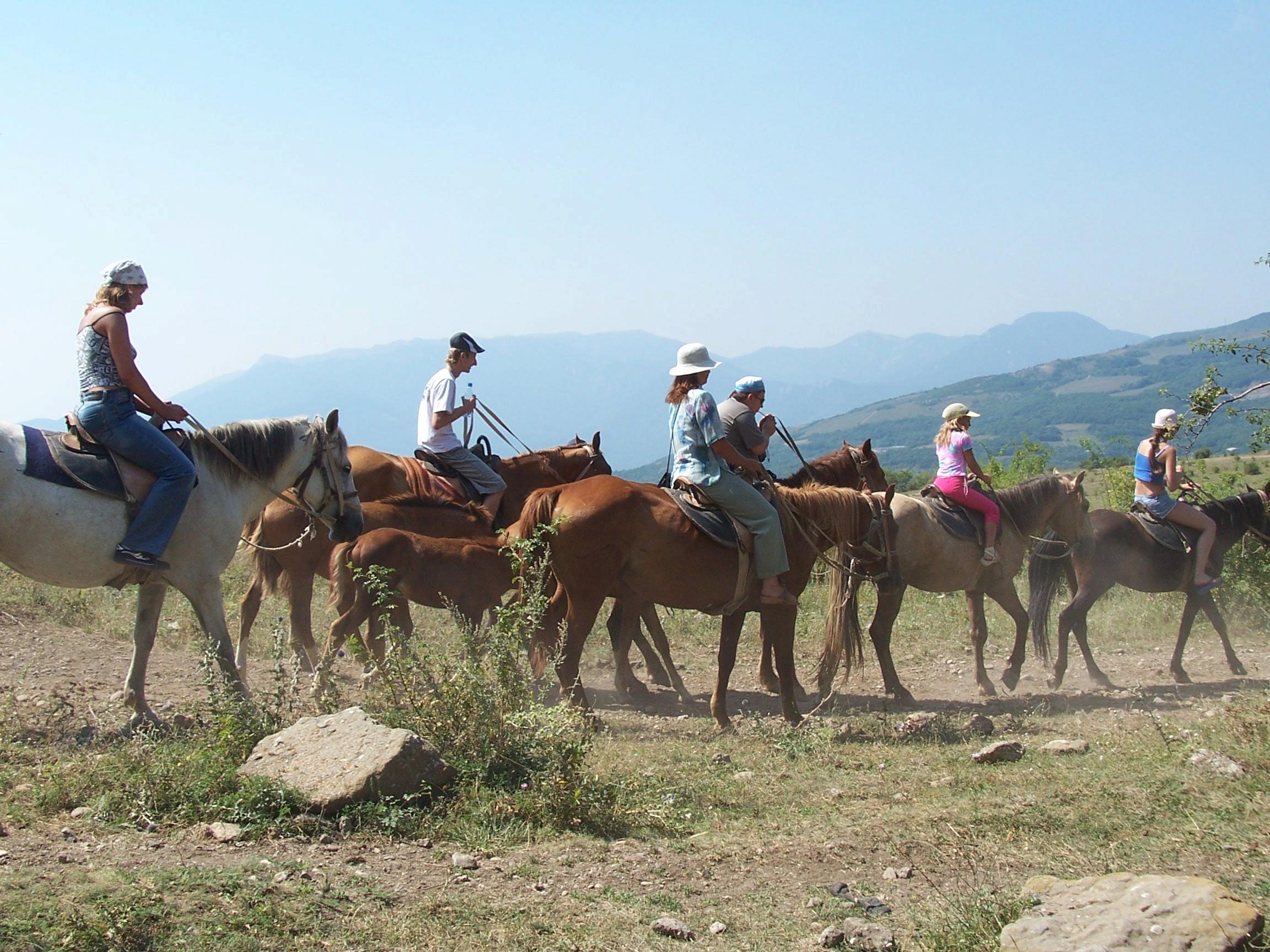 крым конный туризм