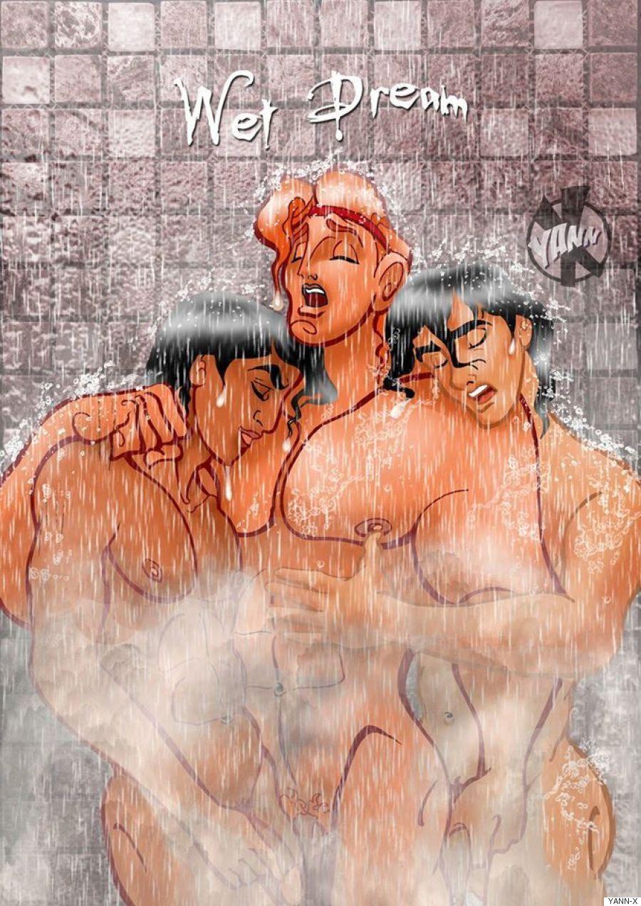 Teen titan comic book