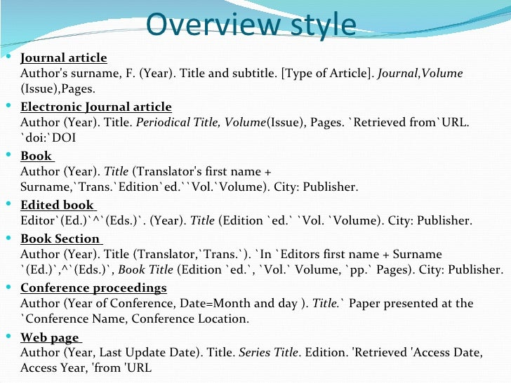 APA References List Examples - Charles J Meder Library