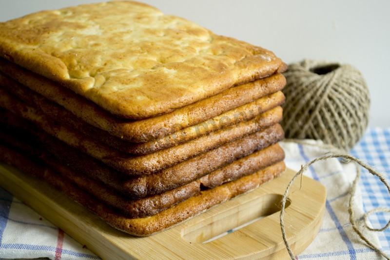 Коржи для медовика рецепт с фото