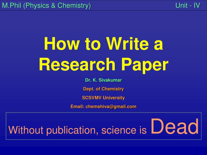 Write my physics paper