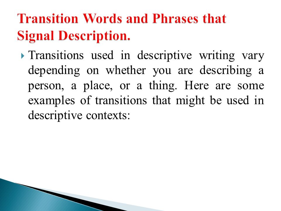 Tips on Writing a Descriptive Essay - Time4Writing