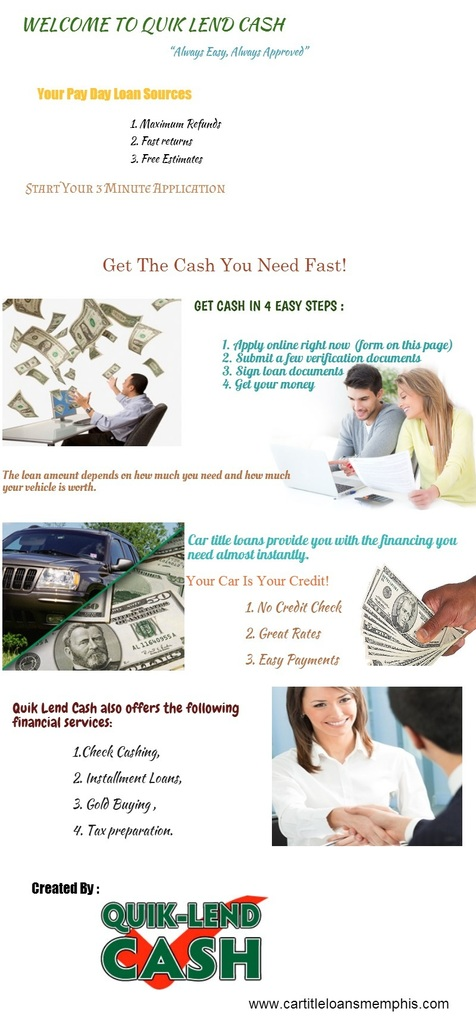Memphis payday loan cash advance