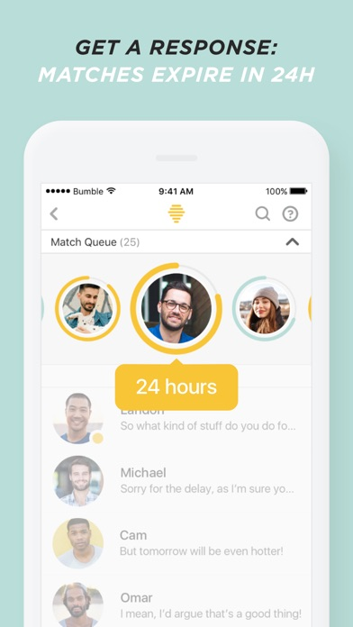 Bumble dating app info