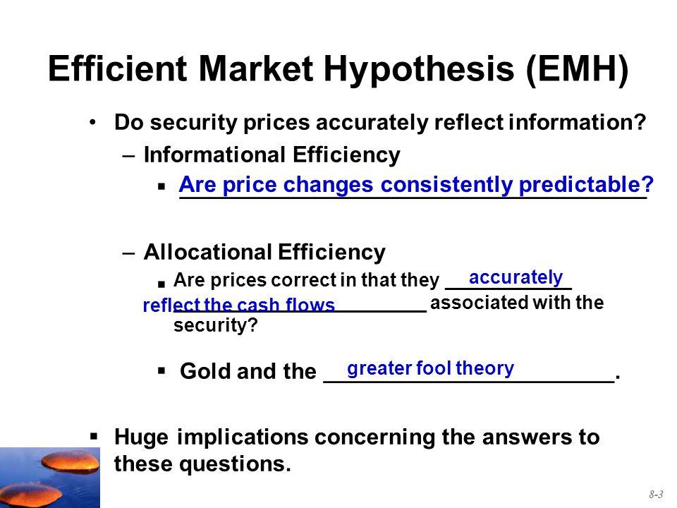 Warren Buffett and Efficient Market Hypothesis