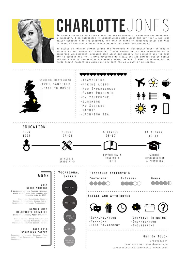 Best 25+ Fashion resume ideas on Pinterest Fashion cv, Fashion - hobbies and interests on resume
