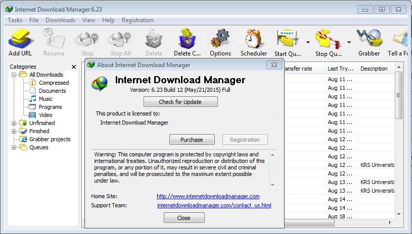 IDM Crack - Internet Download Manager 630 Build 8