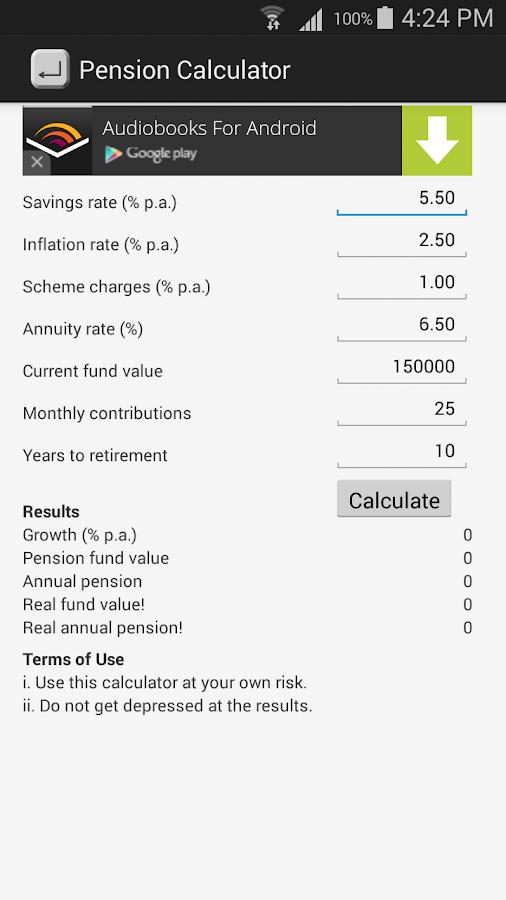 Cibc retirement calculator kenya moja