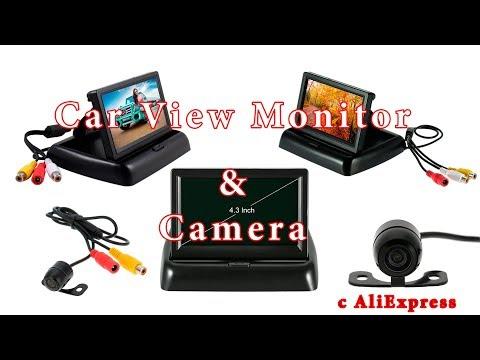 Монитор с камерой заднего вида с алиэкспресс