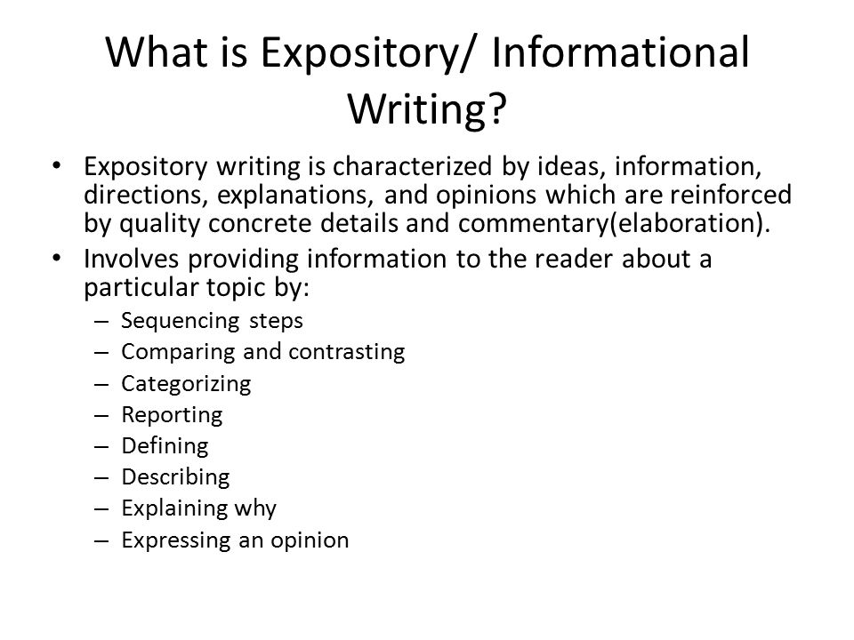 How to Write an Expository Essay - ThoughtCo