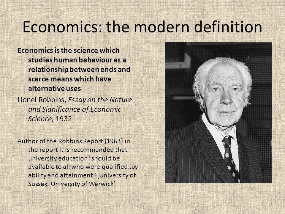 Is Economics a Science? College Economics Topics