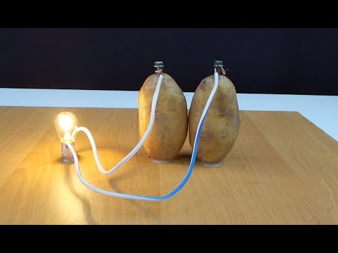 FINDING THE VOLTAGE OF DIFFERENT TYPES OF POTATO