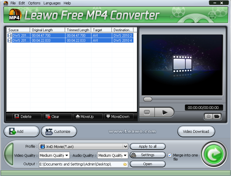 Convert WLMP to WMV for Windows Media Player