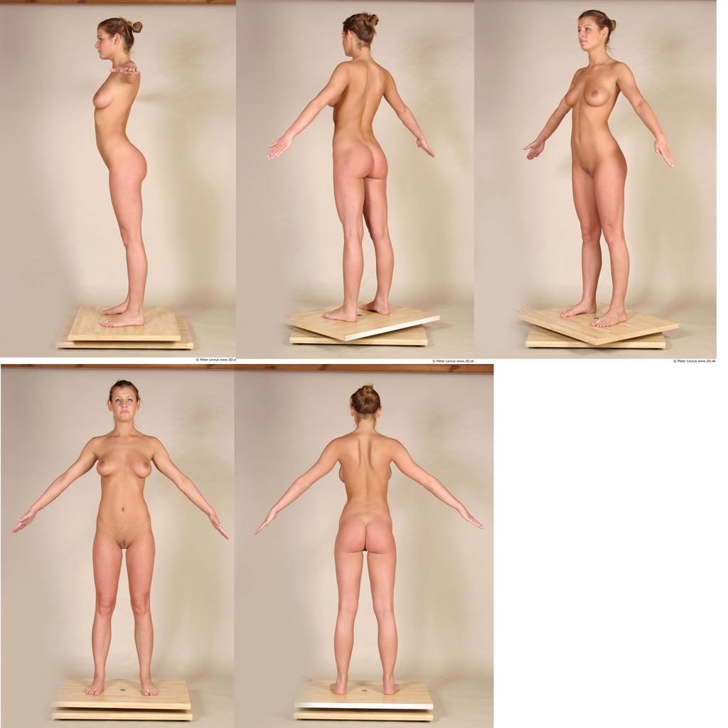 pose nude female anatomy class - other
