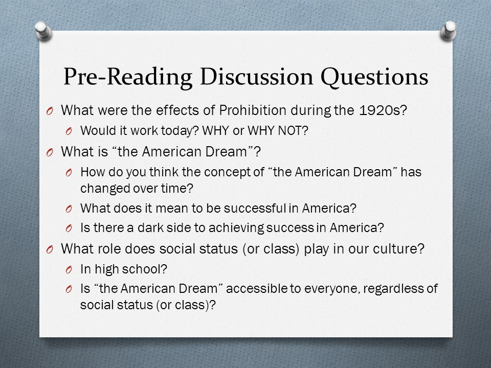American Dream essays