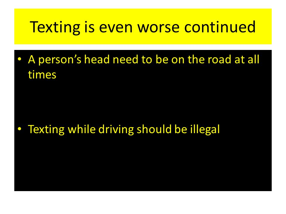 Write my satirical essays on texting while driving