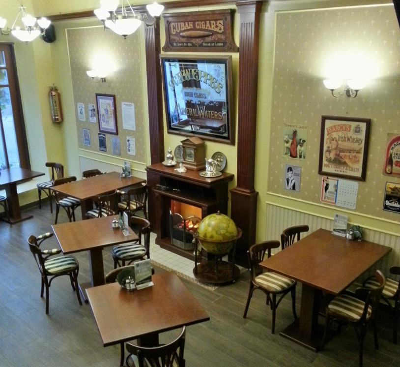Ресторан Sean O'Neill - фотография 2 - Зал на 1-ом этаже