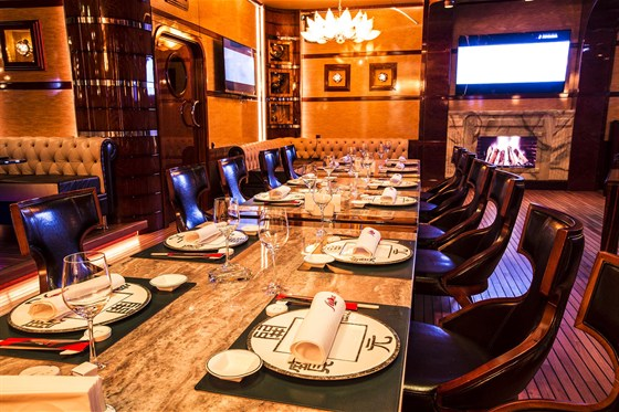 Ресторан Лодка - фотография 7 - Шлюпка - банкетный зал с караоке